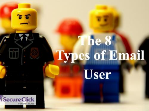 Secure Click News Phishing and the 8 Types of Email User
